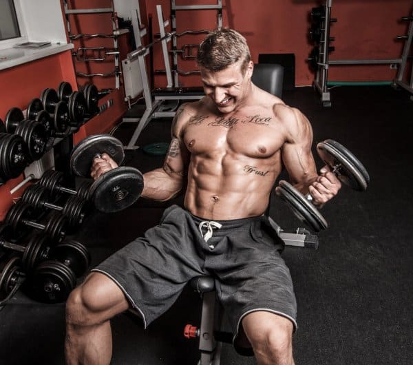 train the long head of the biceps